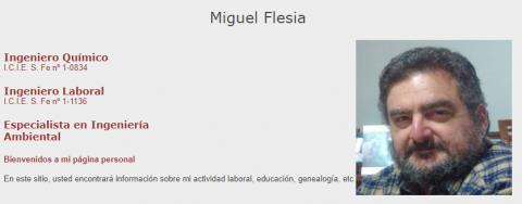 Miguel Flesia - Higiene y Seguridad Laboral, Calidad y Medio Ambiente